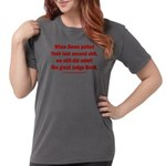 Rhyming Judge Brett Womens Comfort Colors® Shirt