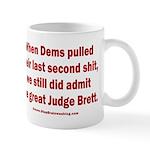 Rhyming Judge Brett 11 oz Ceramic Mug