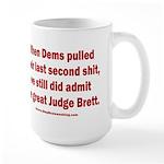 Rhyming Judge Brett 15 oz Ceramic Large Mug