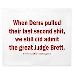 Rhyming Judge Brett King Duvet