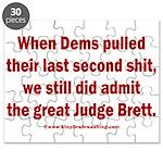 Rhyming Judge Brett Puzzle