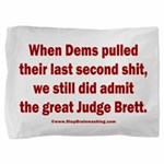 Rhyming Judge Brett Pillow Sham