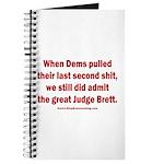 Rhyming Judge Brett Journal
