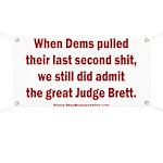 Rhyming Judge Brett Banner