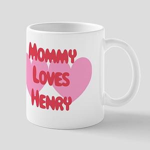 Mommy Loves Henry Mug