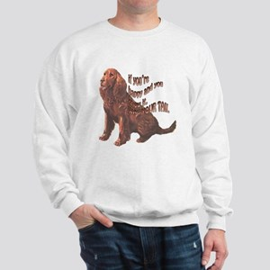 Happy American Water Spaniel Sweatshirt
