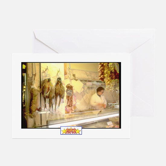 Painted Italian Butcher Shop Cards (Pk of 10)
