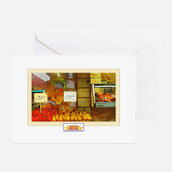 Painted Italian Fruit Stand Cards (Pk of 10)