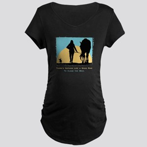 Good Ride Equestrian Maternity Dark T-Shirt