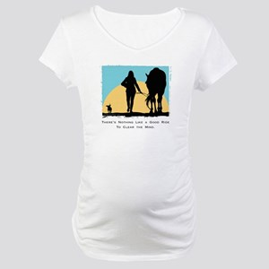 Good Ride Equestrian Maternity T-Shirt