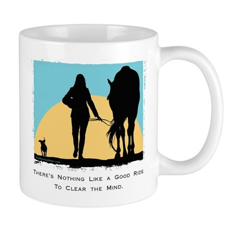 Good Ride Equestrian Mug