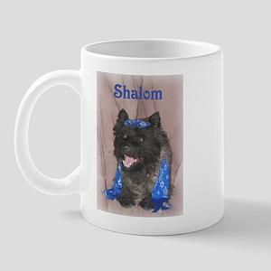 Shalom Cairn Terrier Mug