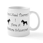 SchnauzerTherapy Mugs