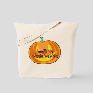 Error 404 Halloween Tote Bag