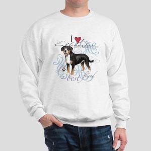 Entlebucher Mountain Dog Sweatshirt