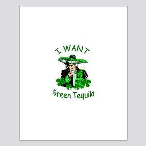Mexican St. Patrick's Day Small Poster
