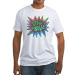 Totally Tubular! Fitted T-Shirt