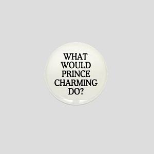 Prince Charming Mini Button