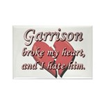 Garrison broke my heart and I hate him Rectangle M