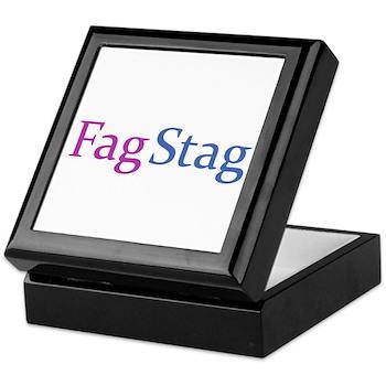 Fag Stag Keepsake Box