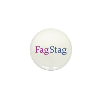 Fag Stag Mini Button (10 pack)