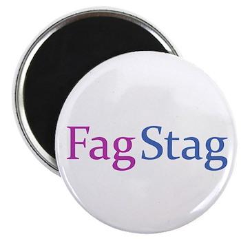 Fag Stag Magnet