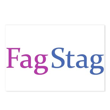 Fag Stag Postcards (Package of 8)