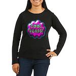 Cool Beans! Women's Long Sleeve Dark T-Shirt