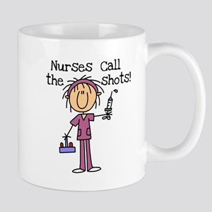 Nurses Call the Shots Mug