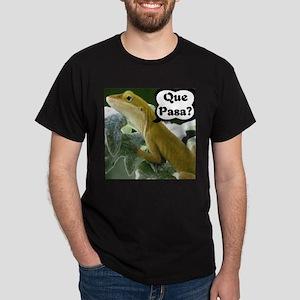 Que Pasa Anole Dark T-Shirt