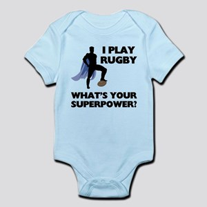 Rugby Superhero Body Suit
