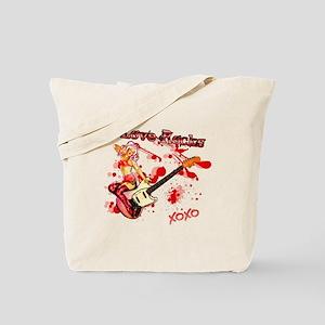 Love Rocks! Tote Bag