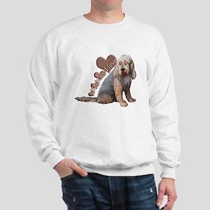 otterhound love Sweatshirt