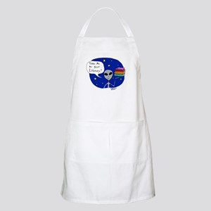 Take Me To Your Library BBQ Apron