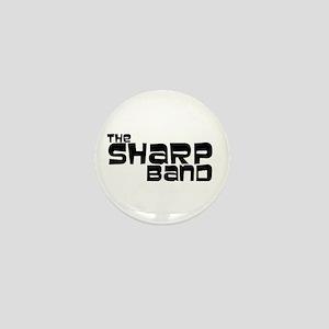 The Sharp Band Mini Button