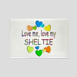 Sheltie Rectangle Magnet