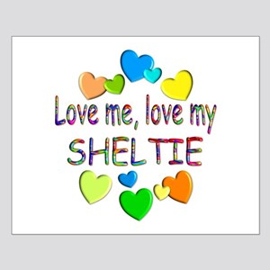 Sheltie Small Poster