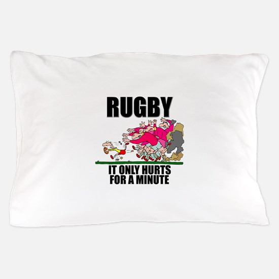 Rugby Hurts Pillow Case