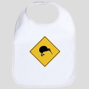 Caution With Kiwis, New Zealand Bib