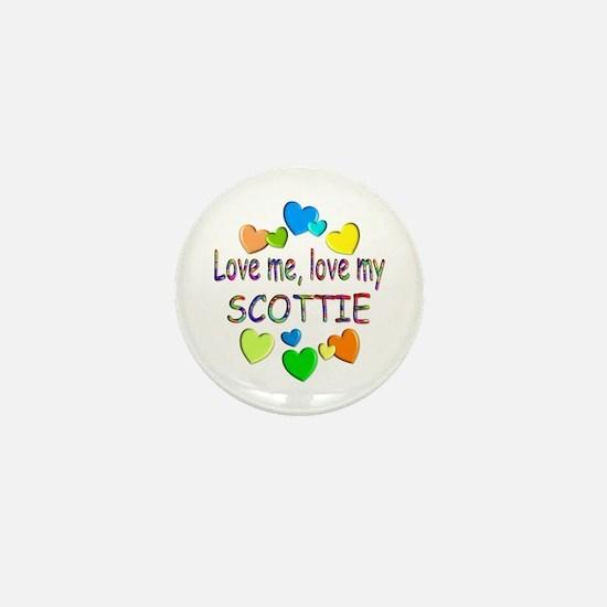 Scottie Mini Button