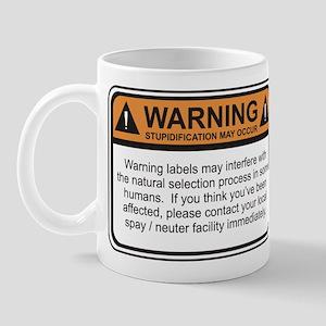 Warning Label Mug