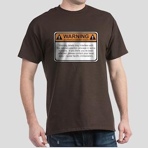 Warning Label Dark T-Shirt