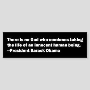 Barack Obama Quotation Bumper Sticker