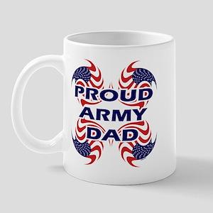 Patriotic Proud Army Dad Mug