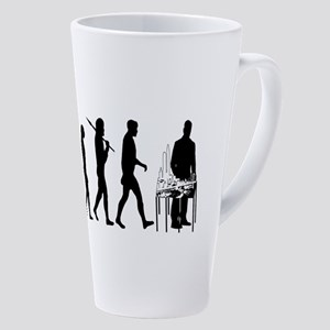 Model Builder 17 Oz Latte Mug