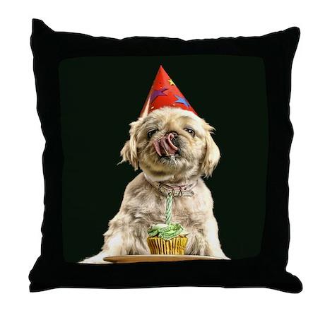 Birthday Boy Throw Pillow