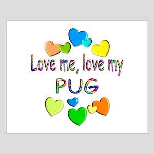 Pug Small Poster