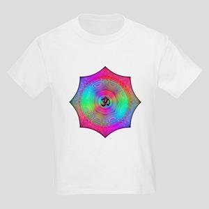 Rainbow Mandala Kids Light T-Shirt
