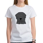 Fun Black Lab Dog Women's T-Shirt