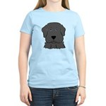 Fun Black Lab Dog Women's Light T-Shirt